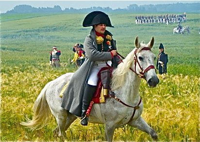 73.  Napoleon at Battle of Waterloo 6-21-09