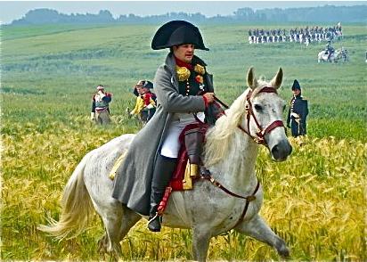 73.  Napoleon at Battle of Waterloo 6-21-09